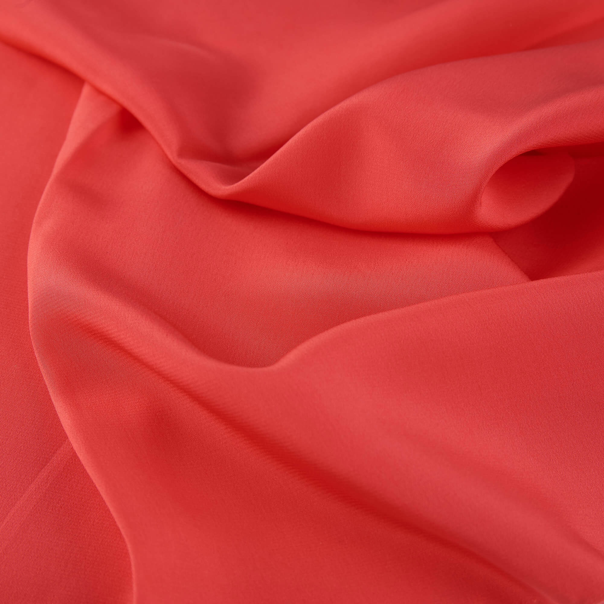 coral pink silk crepe fabric16 mommes