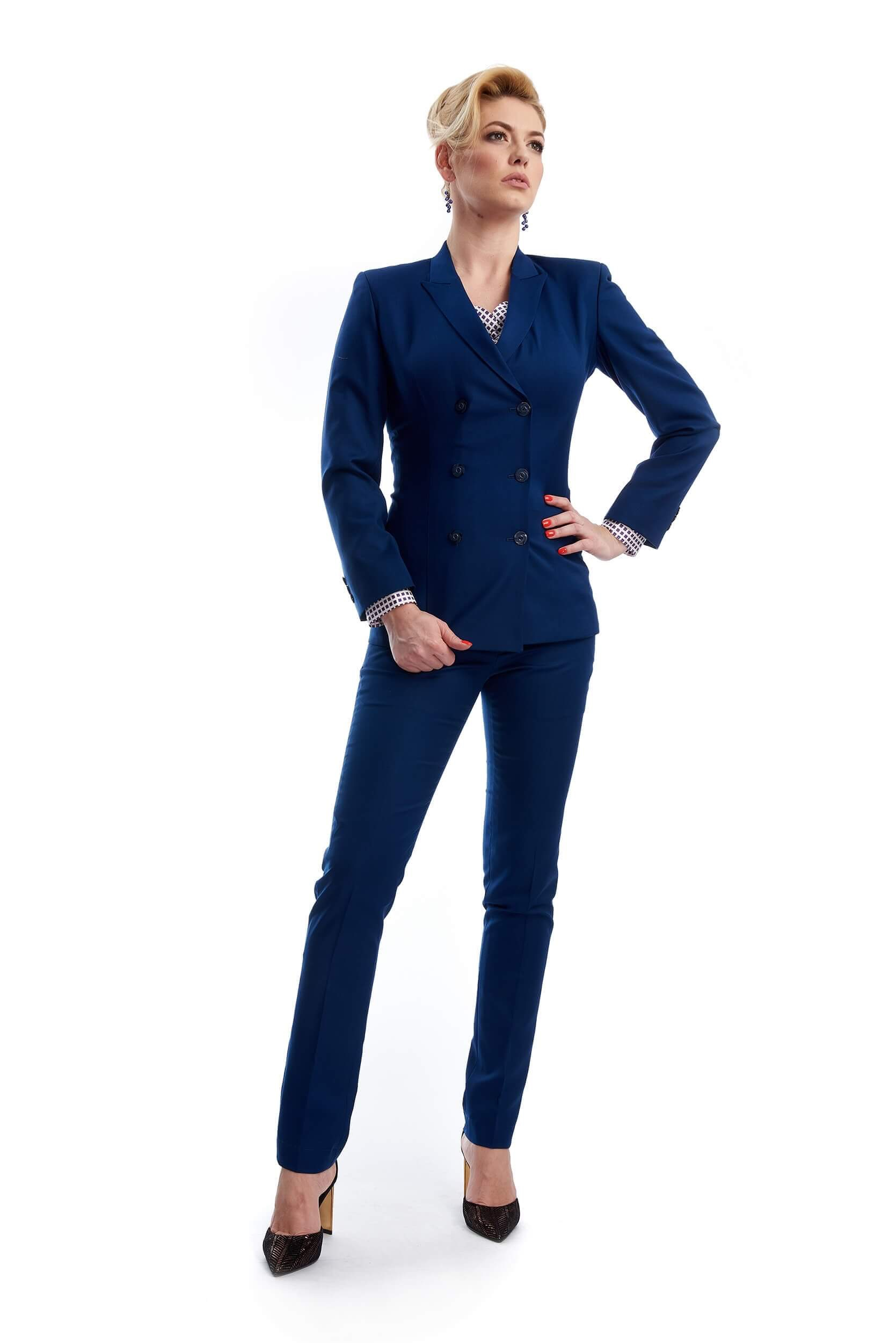 double-breasted wool suit charlotte